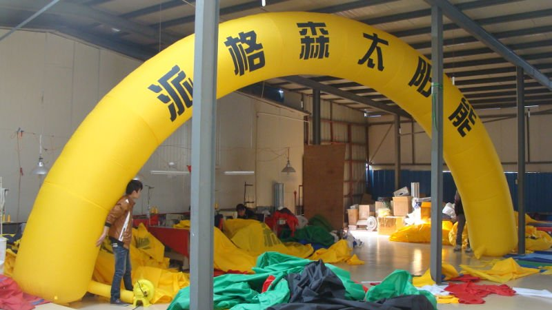 Inflatable round arch for raceInflatable round arch for race