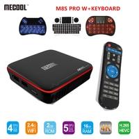 MECOOL M8S PRO W Android 7 1 TV Box Amlogic S905W CPU Quad Core 2GB RAM