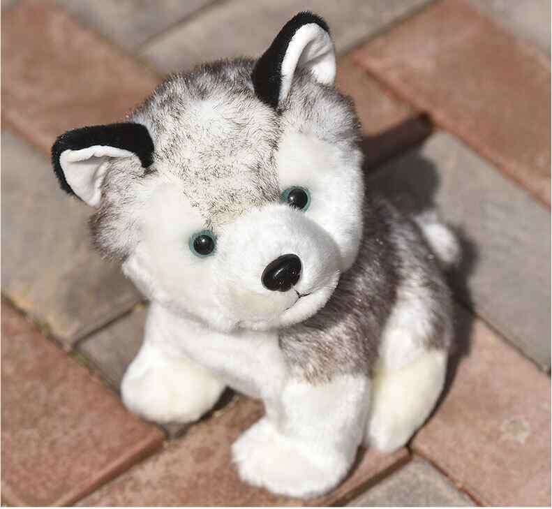 10-20CM Cute Simulation Dog Plush Toy Puppy Doll Lying Dog Cloth Doll Household Decoration Children's Birthday Gift