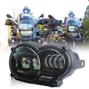 """Image 1 - אופנוע אור 110W LED קדמי פנס עבור BMW R1200GS R1200 GS עו""""ד 2004 2012"""