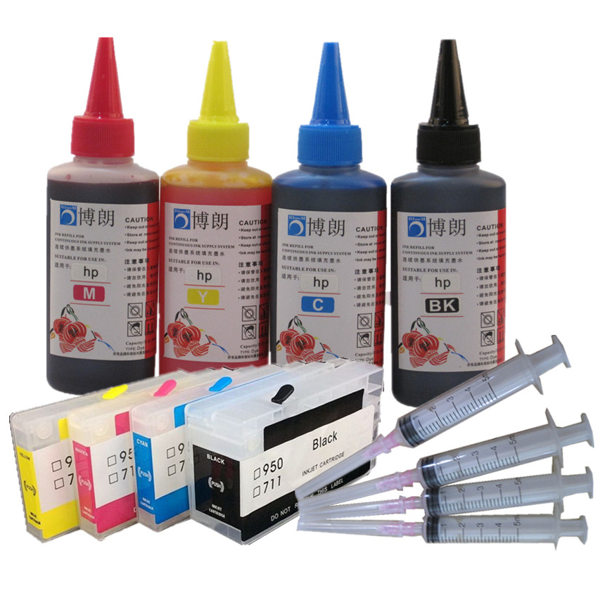 <font><b>refill</b></font> ink kit FOR <font><b>hp</b></font> 955 954 952 <font><b>953</b></font> ink cartridge for <font><b>hp</b></font> OfficeJet PRO 7720/7730/7740/8210/8216/8740/8710/8715/8720/8727/8730 image