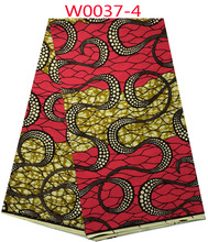 The hottest sale veritable wax hollandais guaranteed dutch super wax hollandais African fabric W0040 5