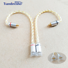 0.78mm 2 pin Female to MMCX Male Earphone Headset Cable Adapter for shure SE215 SE535 SE846 for Weston 1964 w4r um3x es3 es5