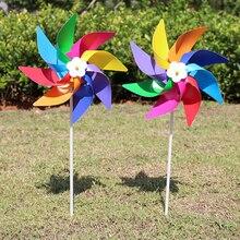 1 Uds nuevo jardín patio fiesta Camping molino viento Spinner ornamento decoración infantil de Juguetes