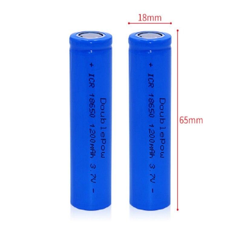 2017 New battery 18650 3.7 V 1200mah 1500mah 1800mah 2000mah 2200mah 2600mah Li ion rechargeable battery 18650 batery