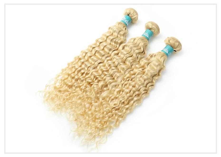 613 Blonde Curly Hair Bundles (6)