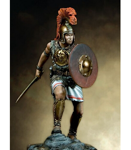 Iberian Warrior 1/24 75mm    Resin Kit Figure Resin
