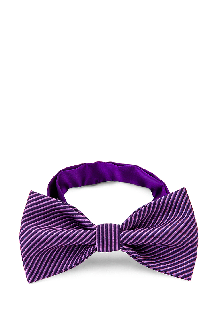 [Available from 10.11] Bow tie male CASINO Casino-poly-lilac 703.10.76 Lilac bow tie pleated frill placket blouse