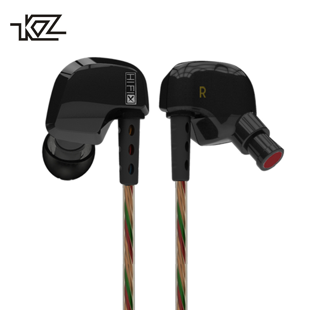 KZ HD9 Sport Headphone Copper Driver Original HiFi Sport Earphones In Ear Earbuds For Running With Microphone game Headset kz ates ate atr earphones with microphone for phone stereo hd hifi professional sport running headset driver earbuds monitor