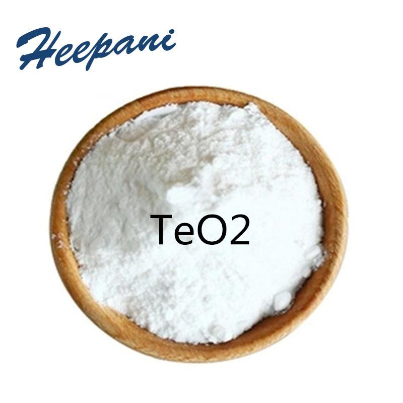 Free Shipping Tellurium Oxide Powder With 99.9% Purity TeO2 Tellurium Dioxide Powder