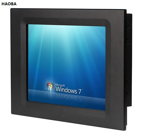 10 4 Industrial Panel PC 10 4 Inch LCD 5 Wire Touchscreen Core I3 CPU 2GB