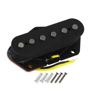 Image 5 - OriPure Handmade Pickup Alnico 5 Tele Pickup Set Guitar Neck Bridge  Pickup For Tele Style Electric Guitar Accessories