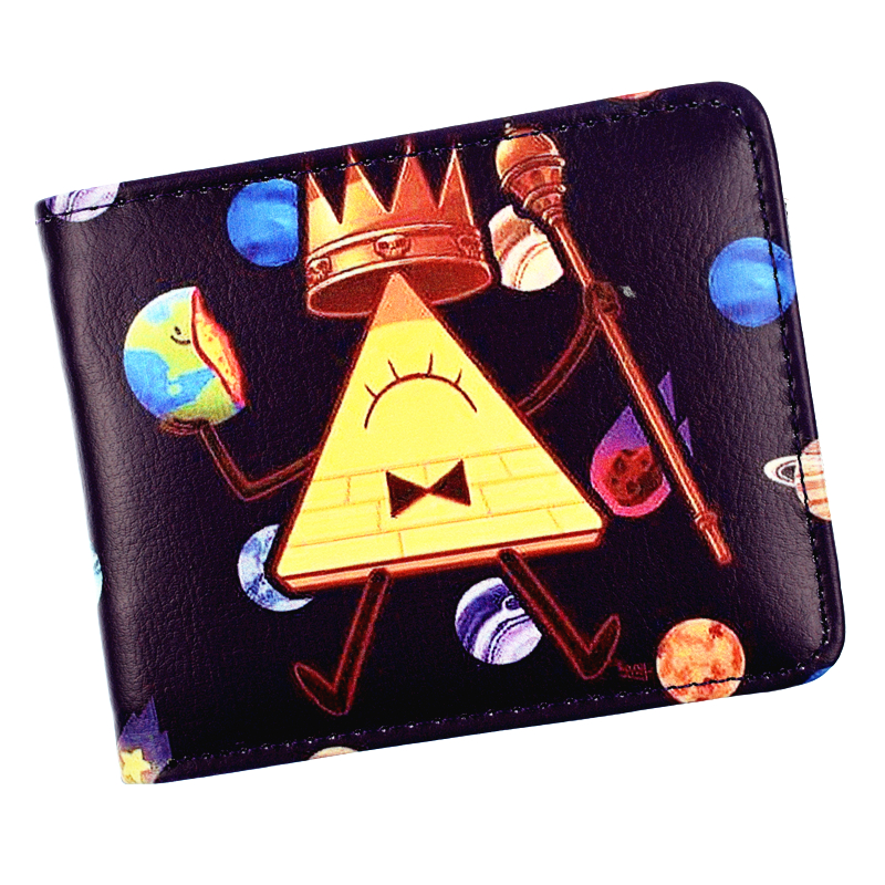 FVIP New Arrival Gravity Falls Wallet Anime Cartoon Short Purse For Boys And Girls