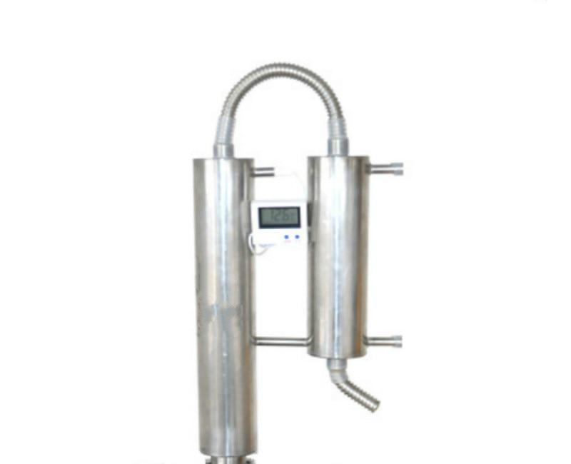 Distiller Stainless steel 304 1.25 Chuck 50.5cm Reflux tower distiller Water Alcohol Distiller
