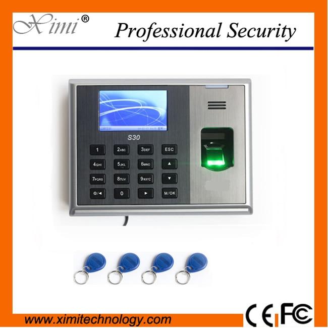 S30 fingerprint time clock optical sensor fingerprint time attendance RFID card time recorder k14 zk biometric fingerprint and rfid card time attendance tcp ip linux system time clock time recorder spanish language support
