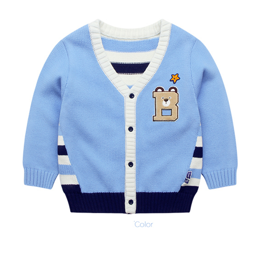 Children Boys Sweaters Knitting Spring Autumn Cardigans Winter ...
