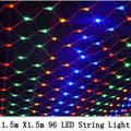 1.5mx1.5m 96 Led 8 modes 220V super bright net mesh string light xmas christmas lights new year garden wedding holiday lighting