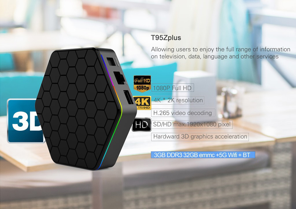 Android TV Receiver SUBTV Subscription T95Z Plus 3GB 32GB S912 Dual-Band WiFi Arabic France Italia Turkish Portugal Code IPTV (2)