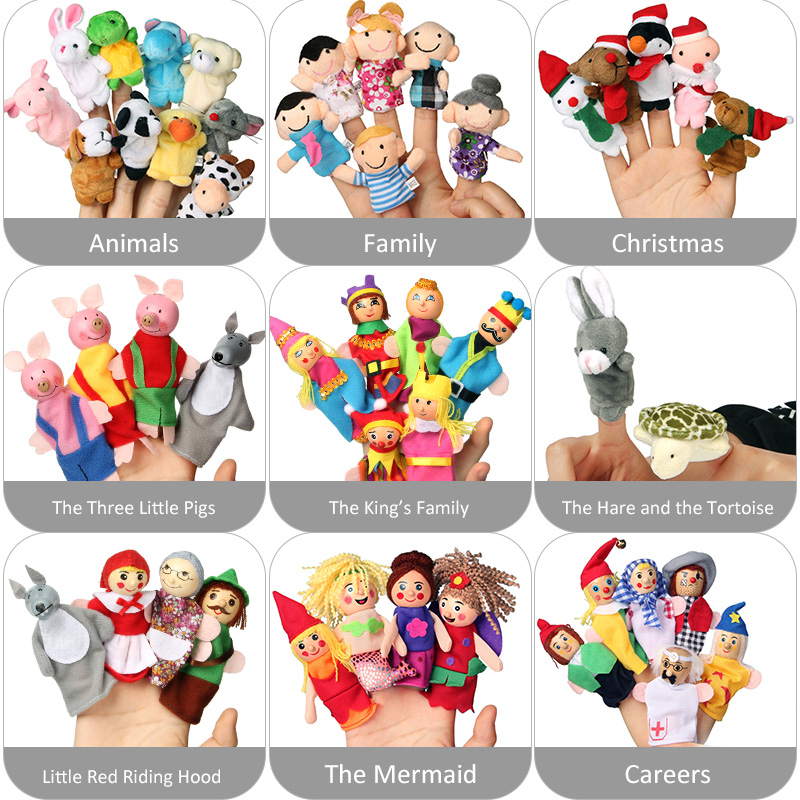 N-Tsi-Cartoon-Animal-Monkey-Dog-Characters-Finger-Puppets-Theater-Show-Soft-Velvet-Dolls-Props-Kids-Toys-for-Children-Gift-Game-2