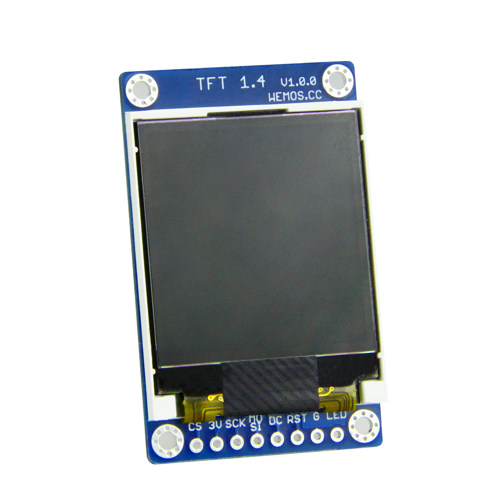 ESP8266 TFT 1.4 Shield V1.0.0 Display Screen Module For D1 Mini 1.44