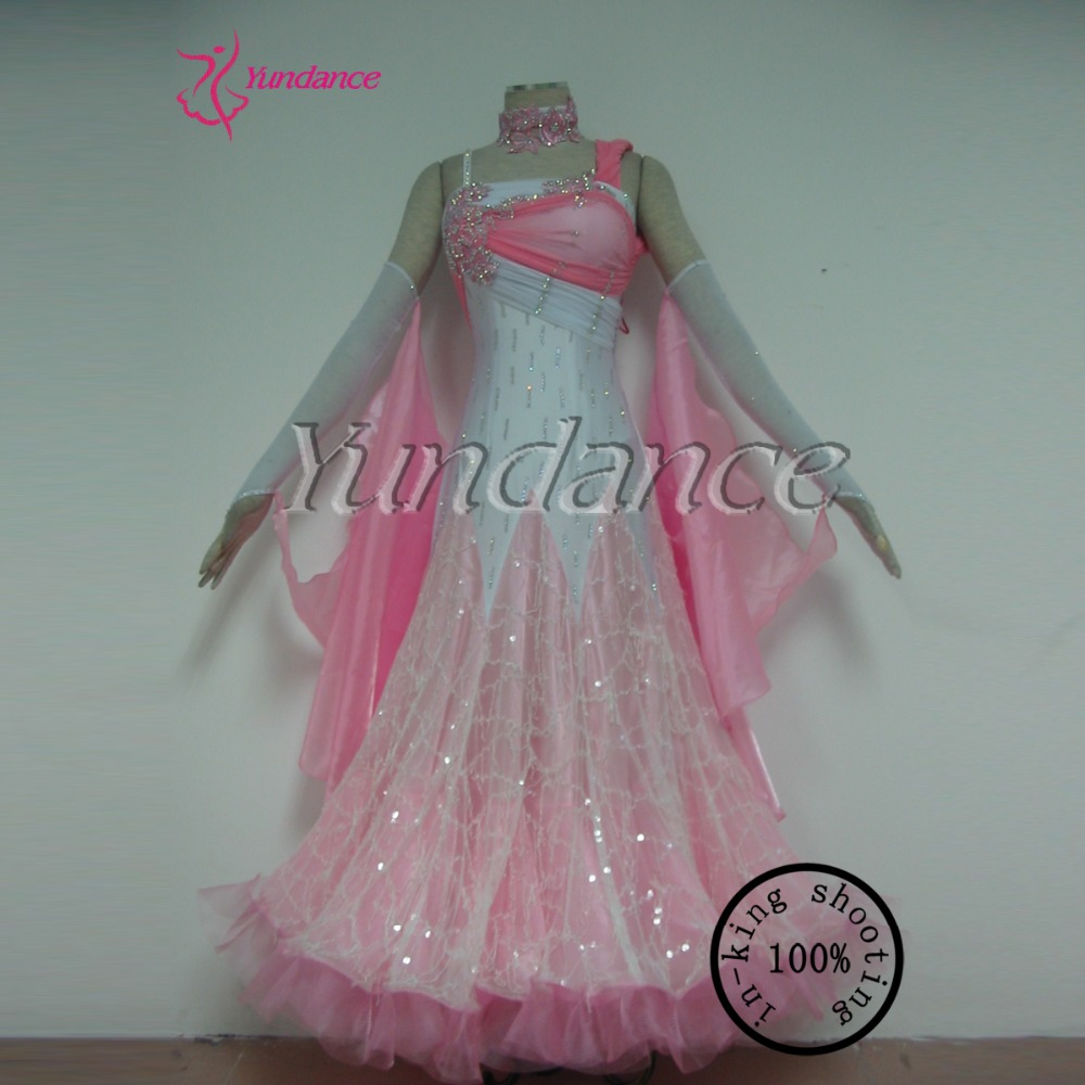 Manufacturer 100 Beautiful Dance Costumes Wings Adult Ballroom Dress 11559