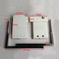 DIY шкаф кровать Murphy 5 пружин механизм аппаратные средства комплект сложить кровать механизм для 0,9 1,2 m постельное покрывало HM117