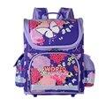 NEW Children School Bags for Girls Princess Butterfly School Portfolio Folded Orthopedic Backpacks Kids Satchel Mochila Escolar