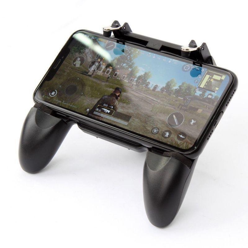 Super Practical Mobile Phone Game Console Control Handle W10 3-in-1 Game Grip Fire Trigge for PUBG