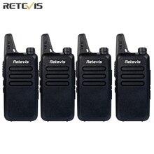 4 pcs Talkie Walkie Retevis RT22 UHF 400-480 MHz CTCSS/DCS TOT VOX Balayage Silencieux Pratique Portable cb Radio Ensemble hf Émetteur-Récepteur A9121A