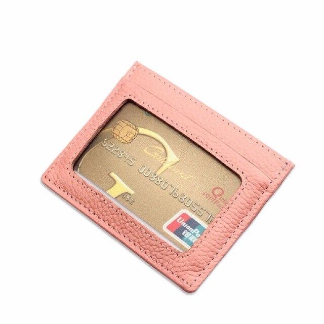 new product b0bff 5b0ab US $4.49 10% OFF|Aliexpress.com : Buy Artmi Fashion Women Card Holder  Leather Slim Card Holders Women Card Case Mens RFID Blocking Wallet Famous  Brand ...