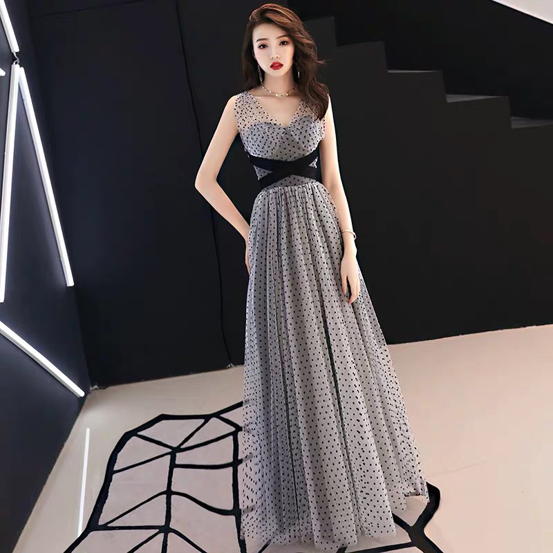 Sexy Elegant A-Line Sweetheart Chiffon Long Evening Dress 2019 Formal Party Dresses Evening Gown Robe De Soiree