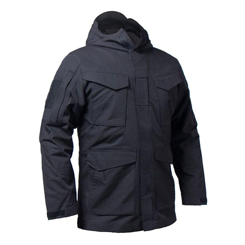 US hommes M65 armée militaire Sport vestes de terrain à capuche coupe-vent manteau thermique Parka