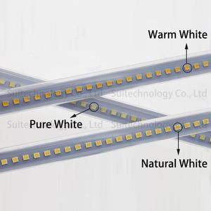 Image 2 - AC220V LED Tube Light LED Light Bar Strip Driverless SMD2835 Rigid Strip Energy Saving For Counter Light Showcase Light Source