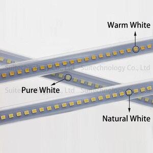 Image 2 - Светодиодная трубка SMD2835, энергосберегающая полоса без драйвера, 220 В переменного тока, для столешницы, витрины