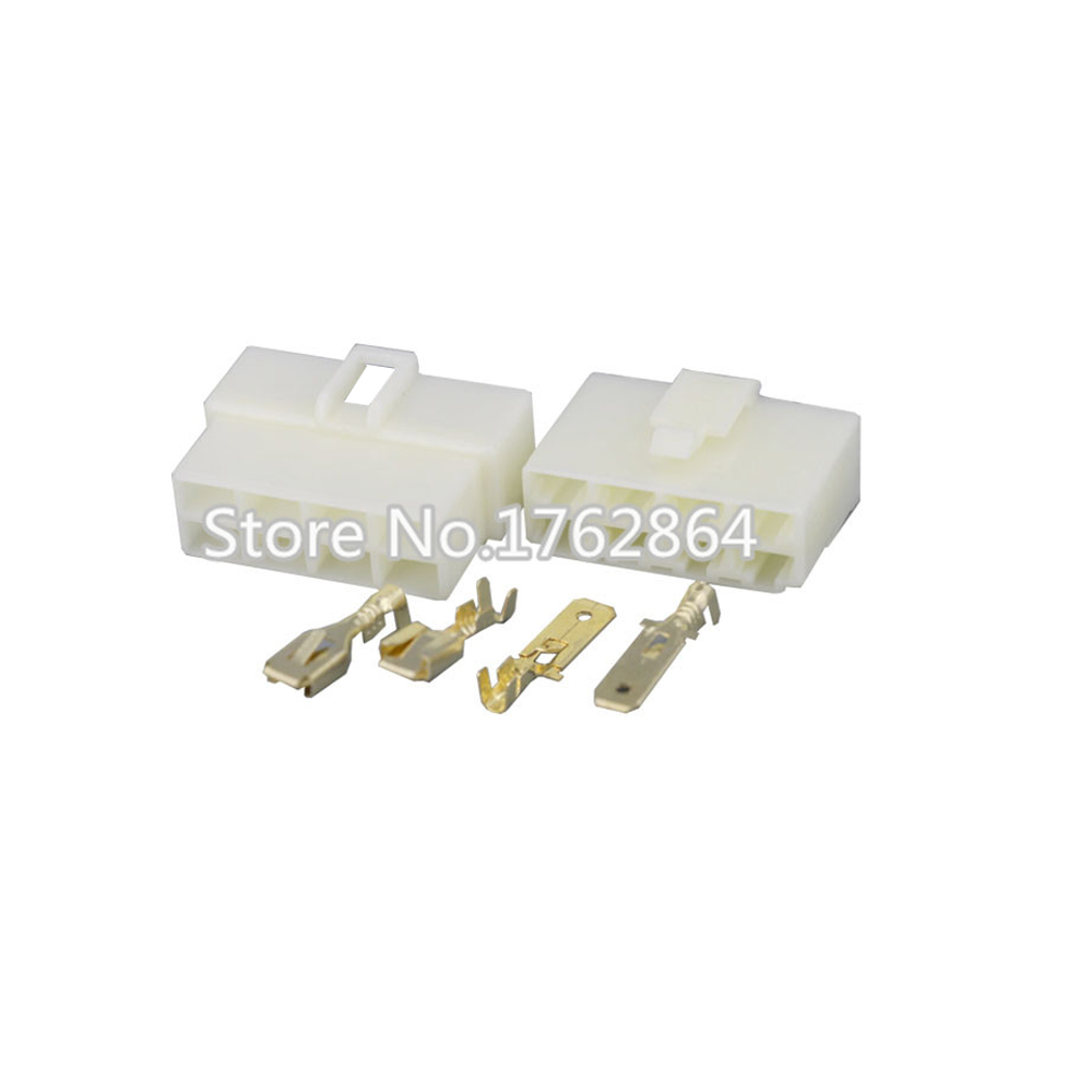 ⊹5 Sets/kit All New 8 Pin/Way DJ7081-6.3 Electrical Wire Connectors ...
