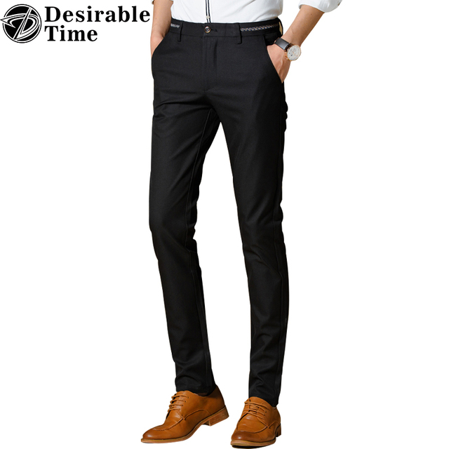 Aliexpress.com : Buy Mens Burgundy Dress Pants Size 28 36 2017 ...