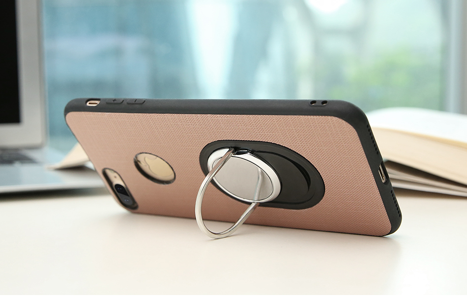 Soft Magnetic i 7 6 6S Plus 5 5S Phone Case For iPhone 7 6 6S Plus 5 5S SE 5G Case Luxury 360 Ring Holder For iPhone 7 6 Cover (2)