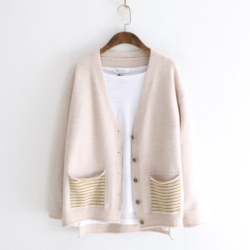 98ba4189334 Sweater Cardigan Women Winter Clothes Cotton Cardigans Fashion 2018 Korean  Style Cartoon Long Sleeve Autumn Fall