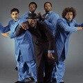Механические уличный танец EB стиль старой школы попсовое локин сцена KOGS классический хип-хоп плюс пиджак пальто