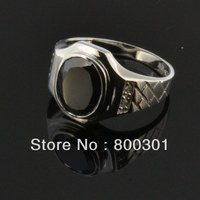 31737 men's silver rings, men's mood rings