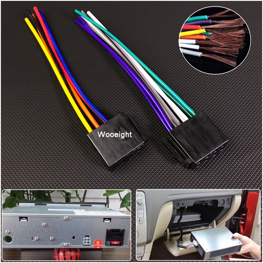 Detail Feedback Questions About Car Cd Radio Audio Stereo Standard Cable Wire Harness Standards Iso Female Adapter Connector Wiring Plug For Auto