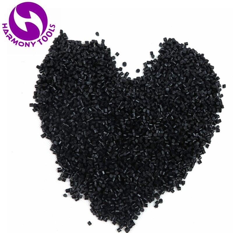HARMONY 500 grammes noir italien colle à la kératine grains colle granule pour I pointe/u-tip/pointe plate fusion extensions de cheveux