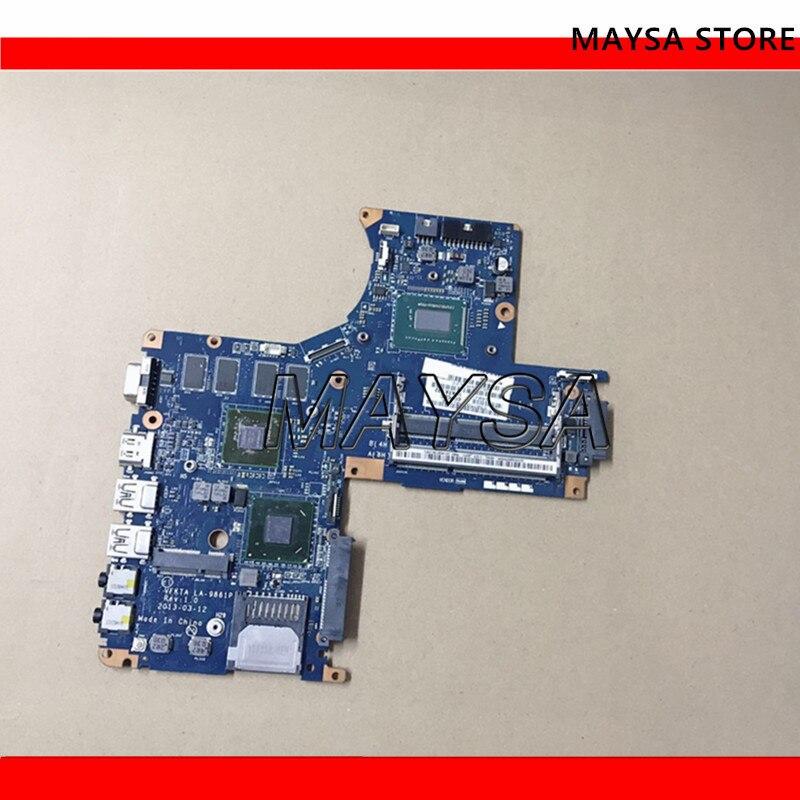 VFKTA LA-9861P K000151750 Mainboard For toshiba satellite S40-A laptop motherboard SLJ8E DDR3 SR0N9 I3-3217U GT740MVFKTA LA-9861P K000151750 Mainboard For toshiba satellite S40-A laptop motherboard SLJ8E DDR3 SR0N9 I3-3217U GT740M
