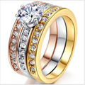 Последние И Модные Кольца Для Мужчин Женщины Свадебные Подарки Цветы Растения Покрытием Золотой Урожай Реклама Рекламных Кольца