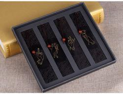 TOP quality hand made rosewood chinese bookmark,bookmarks vintage design buddhism finger set book markers