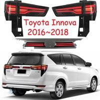 Автомобильный задний фонарь для Innova светодио дный задний фонарь Innova Taillamp светодио дный с мигающим сигналом 2016 2017 2018 задние фонари задняя ла
