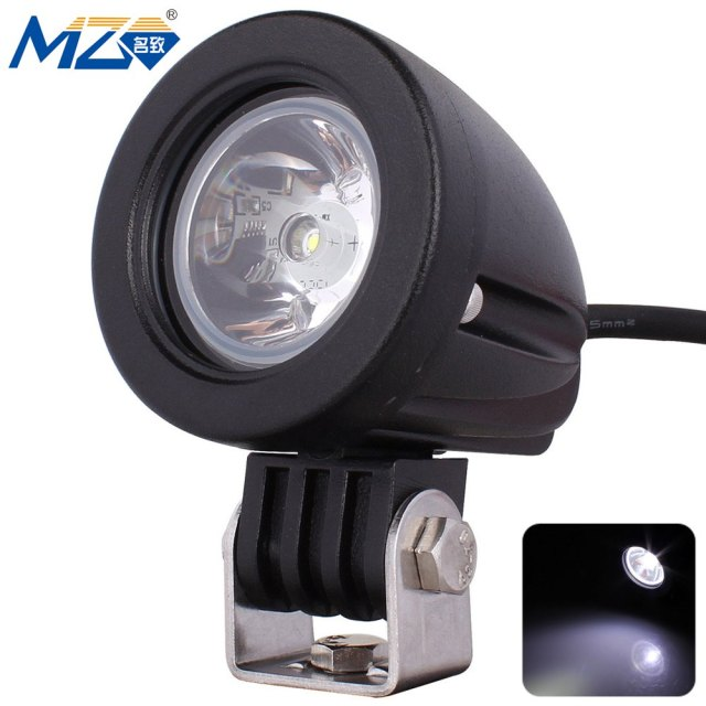 MZ-O-10-Spot-Round LED Spotlight 30 Degrees Work Light SUV UTV Head Light Fog Light Side Light XM-L850LM 6000K