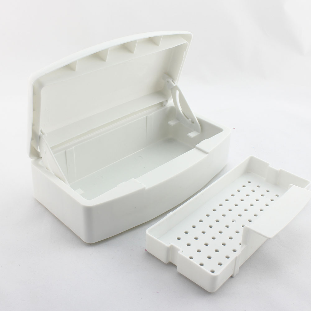 20pcs/lot Nail Art Sterilizer Tray Box for Esterilizador Clean Nail Sterilizing Nail Art Tools Wholesale SKU:F0059XX