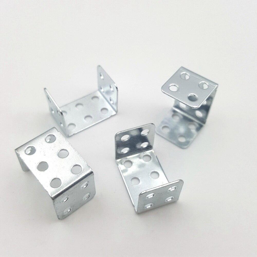 5PC/lot U-shaped Angle Iron Bracket Corner Brackets Corner Code Perforated Shaft Bracket