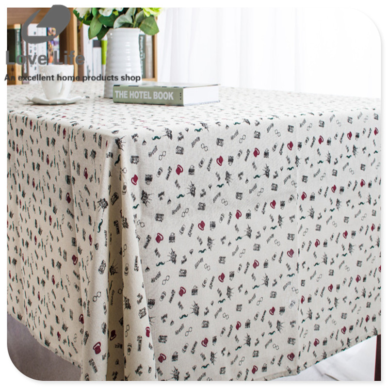 promotion modern style cartoon print table cloth for party picnic hotel rectangular cheap tablecloths tafelkleed home